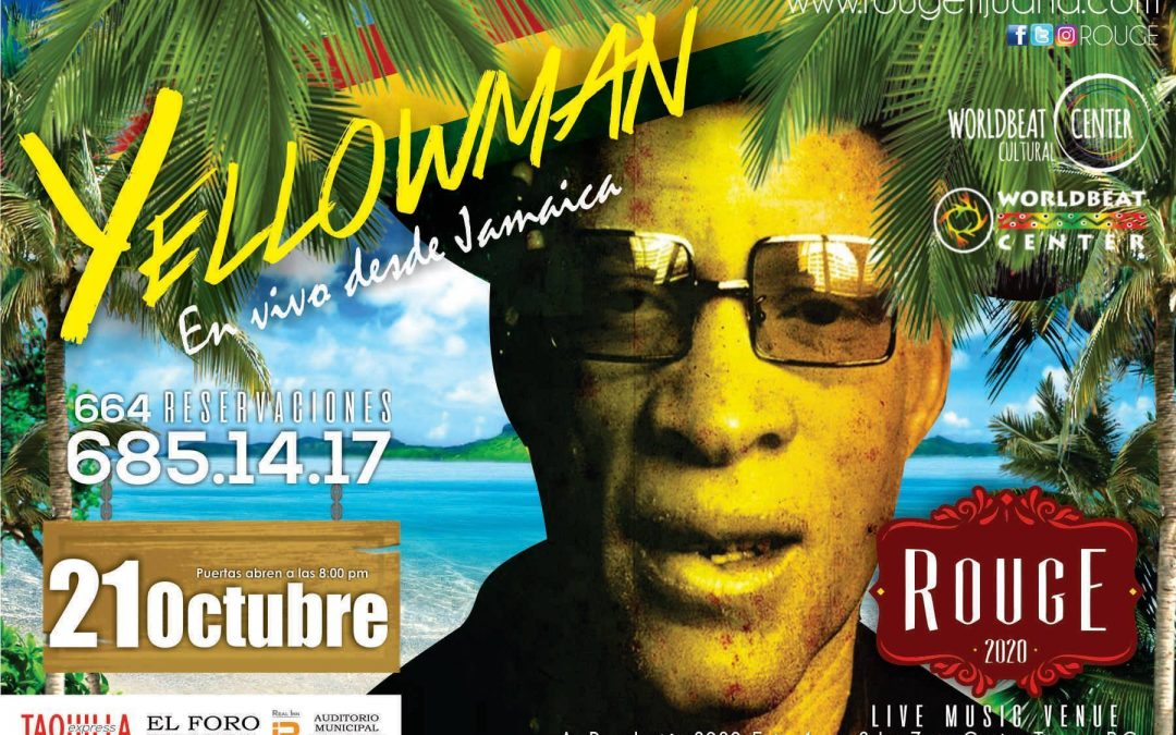 Yellowman Plays Haitian Refugee Fundraiser Concert, Tijuana