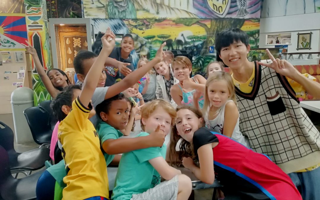 Teaching Chinese at Summer Camp